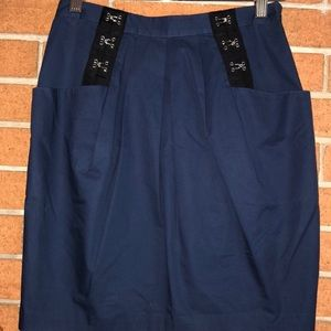 💙3.1 PHILLIP LIM 💙EYE AND HOOK PANELED SKIRT💙